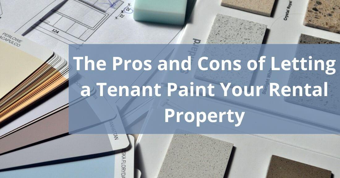 letting a tenant repaint
